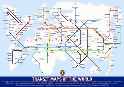 Transit Maps of the World
