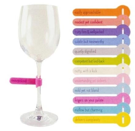 Favori Etiquettes pour vos verres - Blog Déco Design OF79
