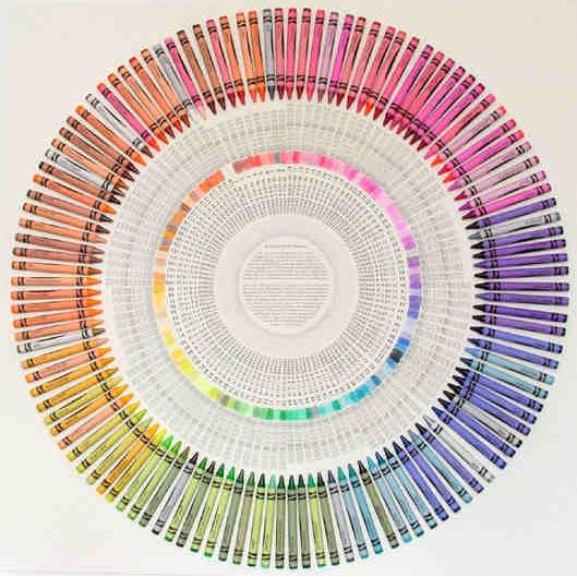 crayola une gamme de couleurs impressionnante blog d co design. Black Bedroom Furniture Sets. Home Design Ideas