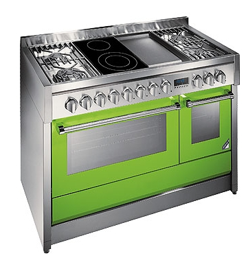 Cuisini res color s genesi par steel blog d co design for Cuisiniere design