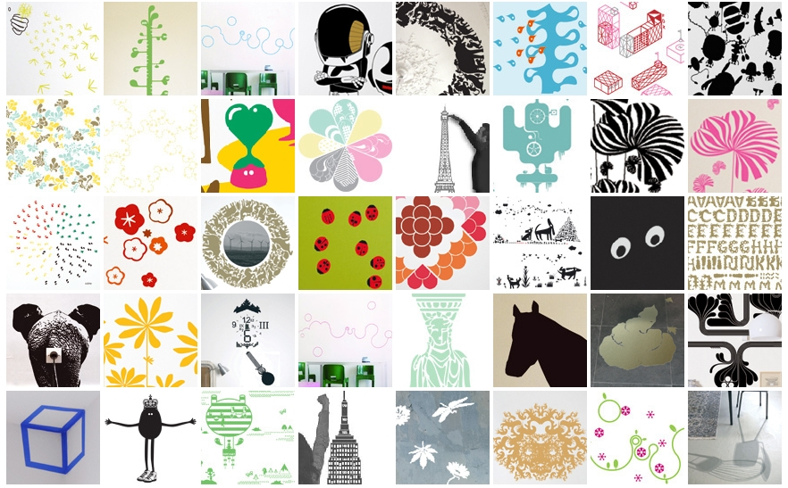 Stickers Mural Idees Stickers Muraux Decoratifs  Party Invitations ...