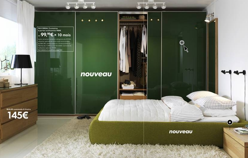 ikea chambre verte blog d co design. Black Bedroom Furniture Sets. Home Design Ideas