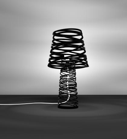 lampe curl my life par dima loginoff blog d co design. Black Bedroom Furniture Sets. Home Design Ideas