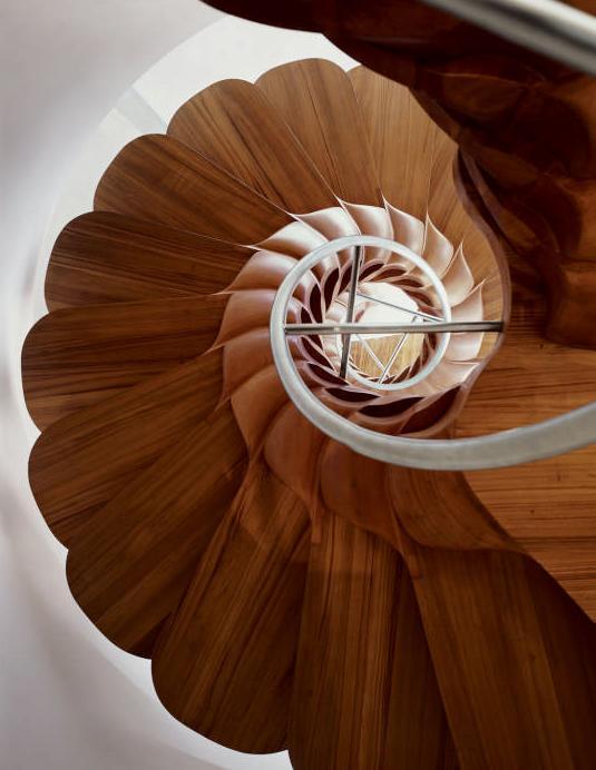 Escalier en colima on par patrick jouin blog d co design - Patrick jouin architecte ...