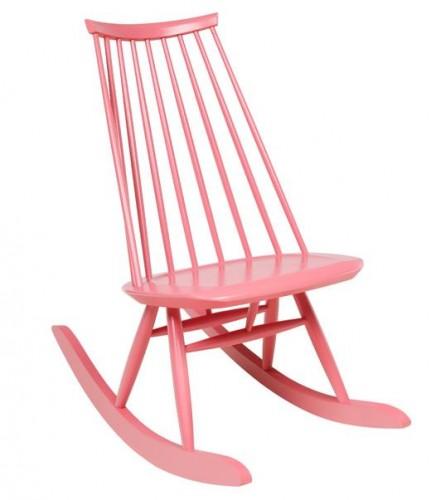 Mademoiselle rocking chair par Ilmari Tapiovaara