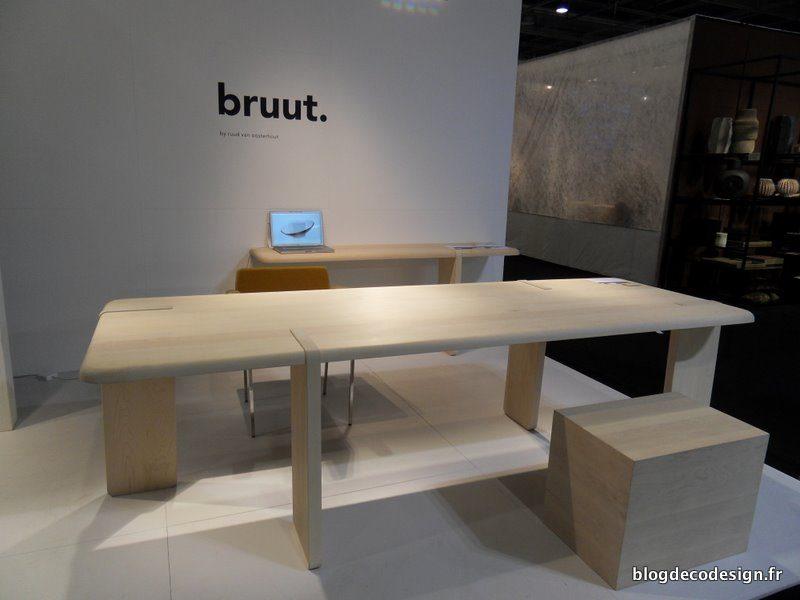 Bruut du mobilier en bois blog d co design for Deco mobilier design