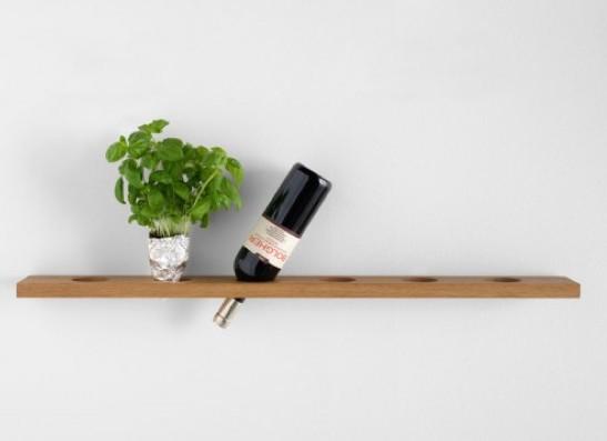 etagere vin. Black Bedroom Furniture Sets. Home Design Ideas