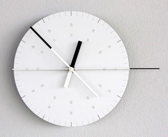 horloge par hundreds tens units blog d co design. Black Bedroom Furniture Sets. Home Design Ideas
