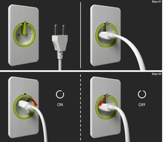 Concept les nouvelles prises lectriques - Cache prise electrique design ...