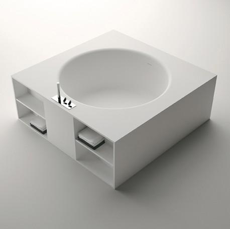 inout la baignoire carr de benedini associati blog. Black Bedroom Furniture Sets. Home Design Ideas