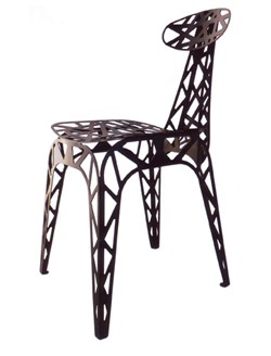 chaise-metal