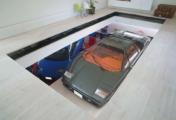 Garage salon blog d co design for Quel garage reprend les voiture