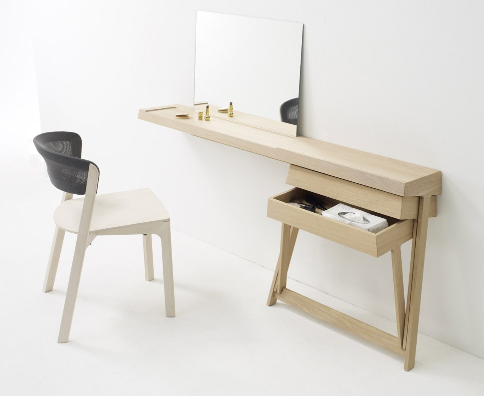 Bureau et coiffeuse par shay alkalay blog d co design - Meuble coiffeuse design ...