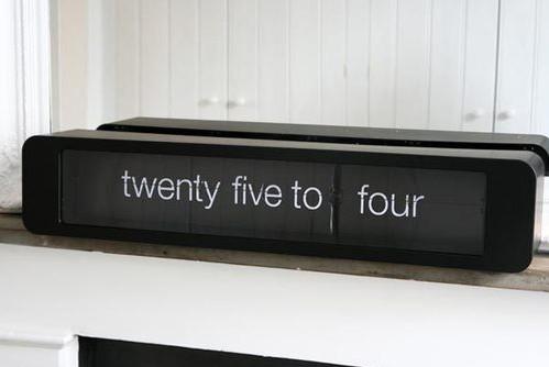 holorge flipclock par karlsson blog d co design. Black Bedroom Furniture Sets. Home Design Ideas