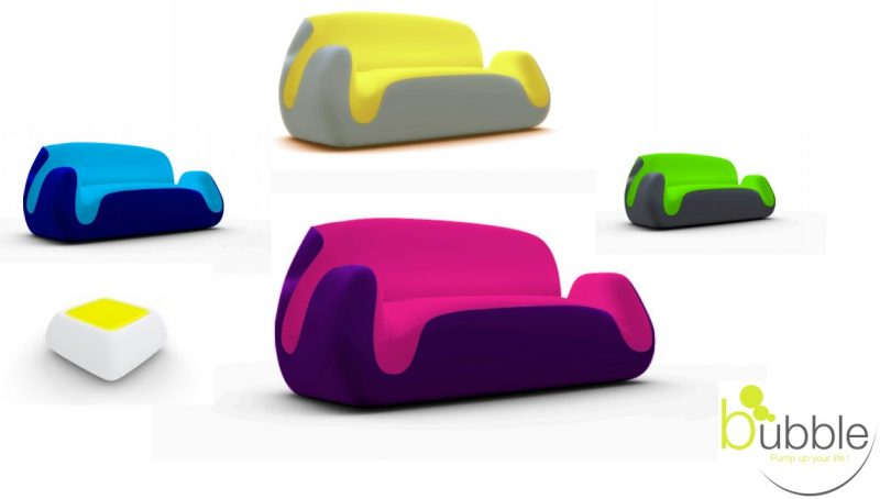 canap gonflable bubble par ludovic michetti blog d co. Black Bedroom Furniture Sets. Home Design Ideas