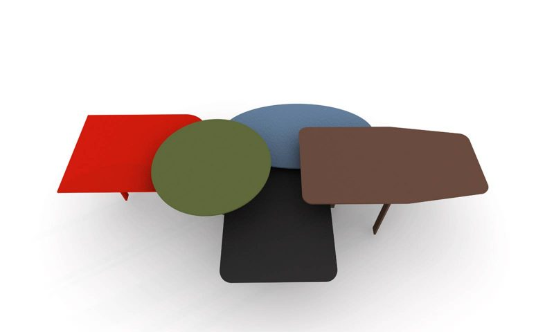 Table Basse Collage Par Alain Gilles Pour Bonaldo Blog D Co Design