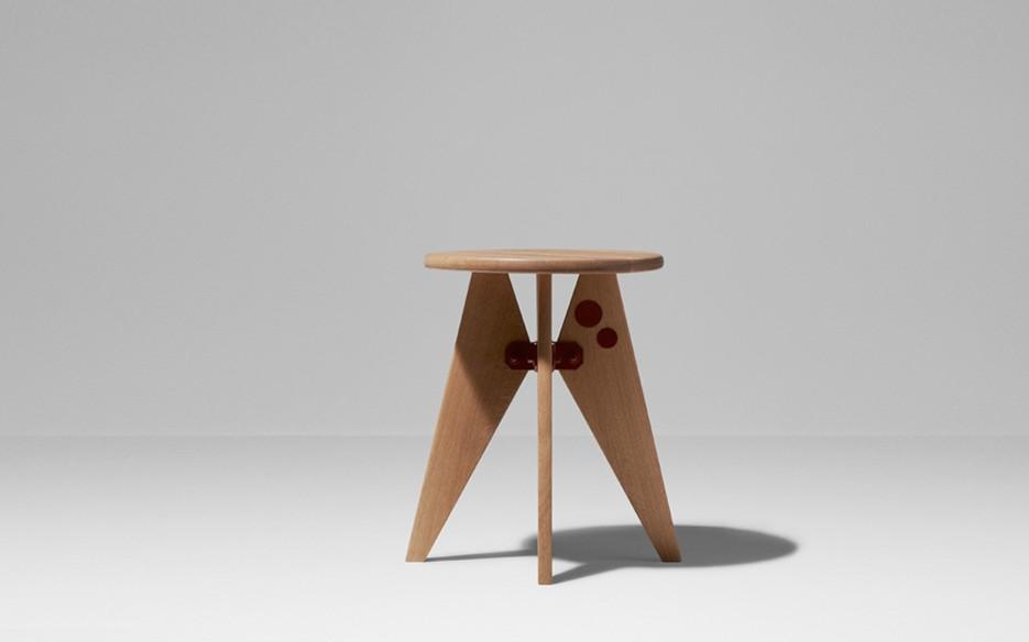 Tabouret prouve blog d co design - Tabouret jean prouve ...