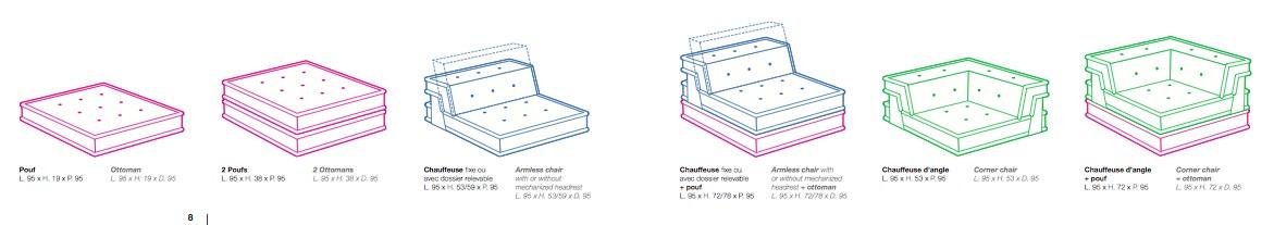 canape roche bobois mah jong 4 blog d co design. Black Bedroom Furniture Sets. Home Design Ideas