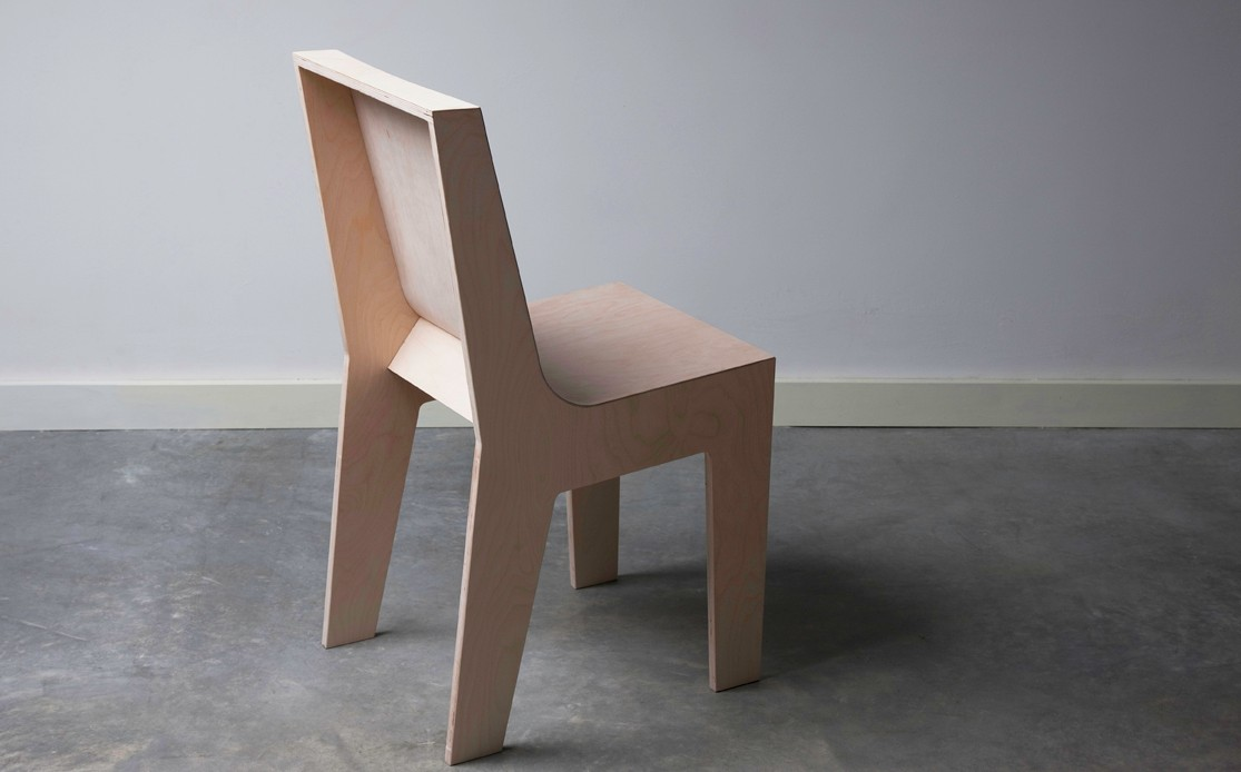 Chaise Bois Design 2