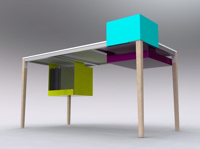 bureau boundary desk par felix de pass blog d co design. Black Bedroom Furniture Sets. Home Design Ideas