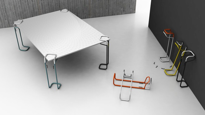 Syst me de pieds de table clipp blog d co design - Pied de table original ...
