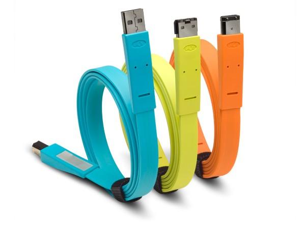 Flat Cables Design : Lacie flat cables par déco design