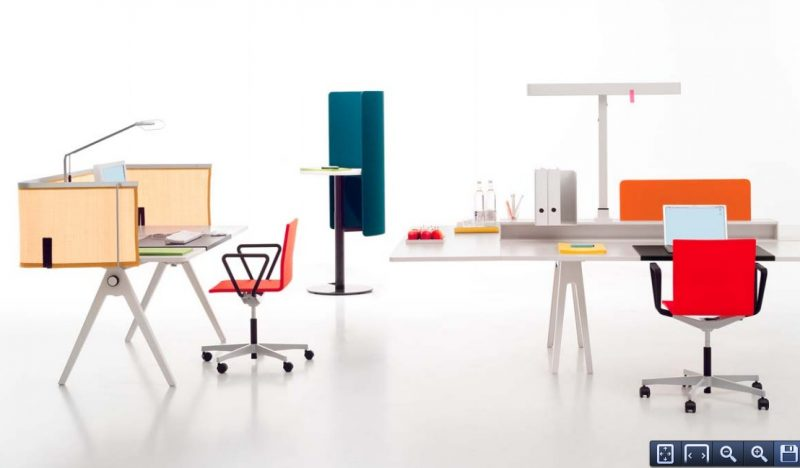 Bureau joyn bench par ronan et erwan bouroullec blog for Bureau design 3 suisses