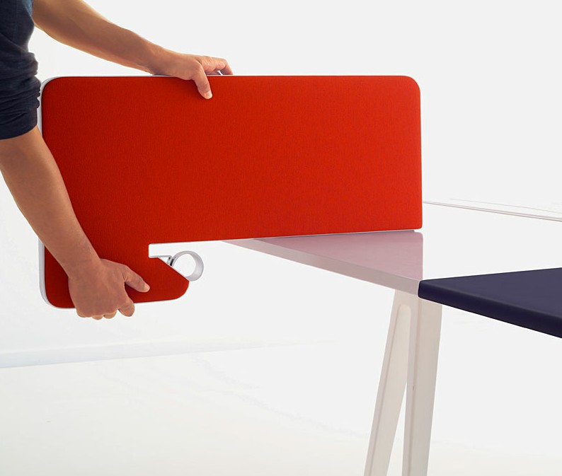 bureau joyn bench par ronan et erwan bouroullec blog. Black Bedroom Furniture Sets. Home Design Ideas