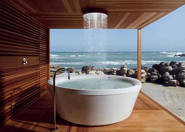 geo 180 une belle baignoire douche par kos blog d co design. Black Bedroom Furniture Sets. Home Design Ideas