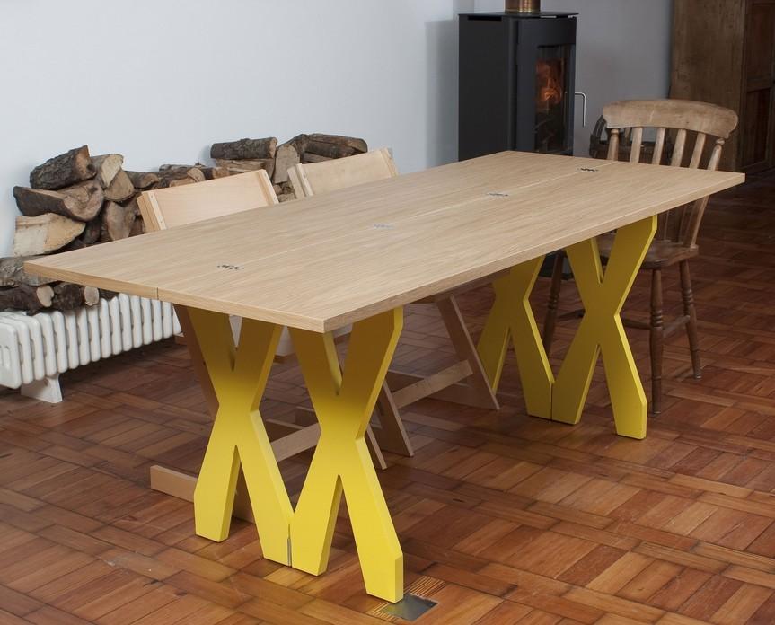 double cross dining console par steuart padwick blog d co design. Black Bedroom Furniture Sets. Home Design Ideas