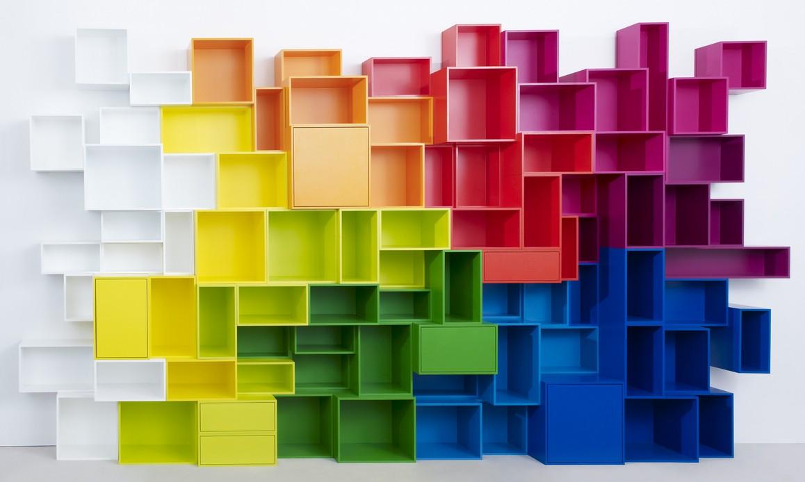 cubit une biblioth que modulaire cr er soi m me blog d co design. Black Bedroom Furniture Sets. Home Design Ideas