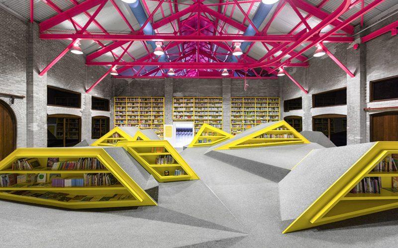 Biblioth que pour enfants au mexique par anagrama blog d co design - Architecture pour enfants ...