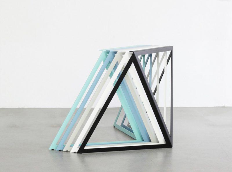 pieds de table steel stand par sebastian scherer blog d co design. Black Bedroom Furniture Sets. Home Design Ideas