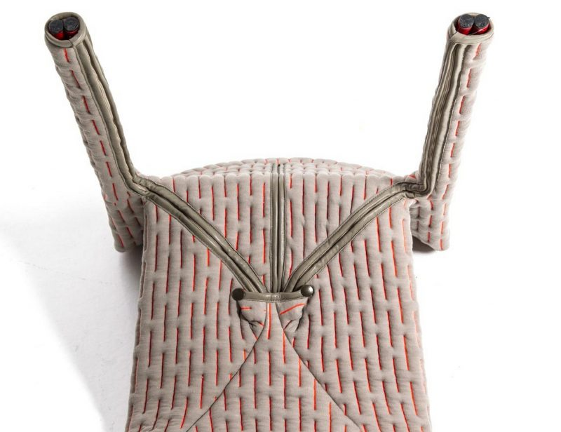 Chaise talma par benjamin hubert blog d co design - Habiller des chaises ...
