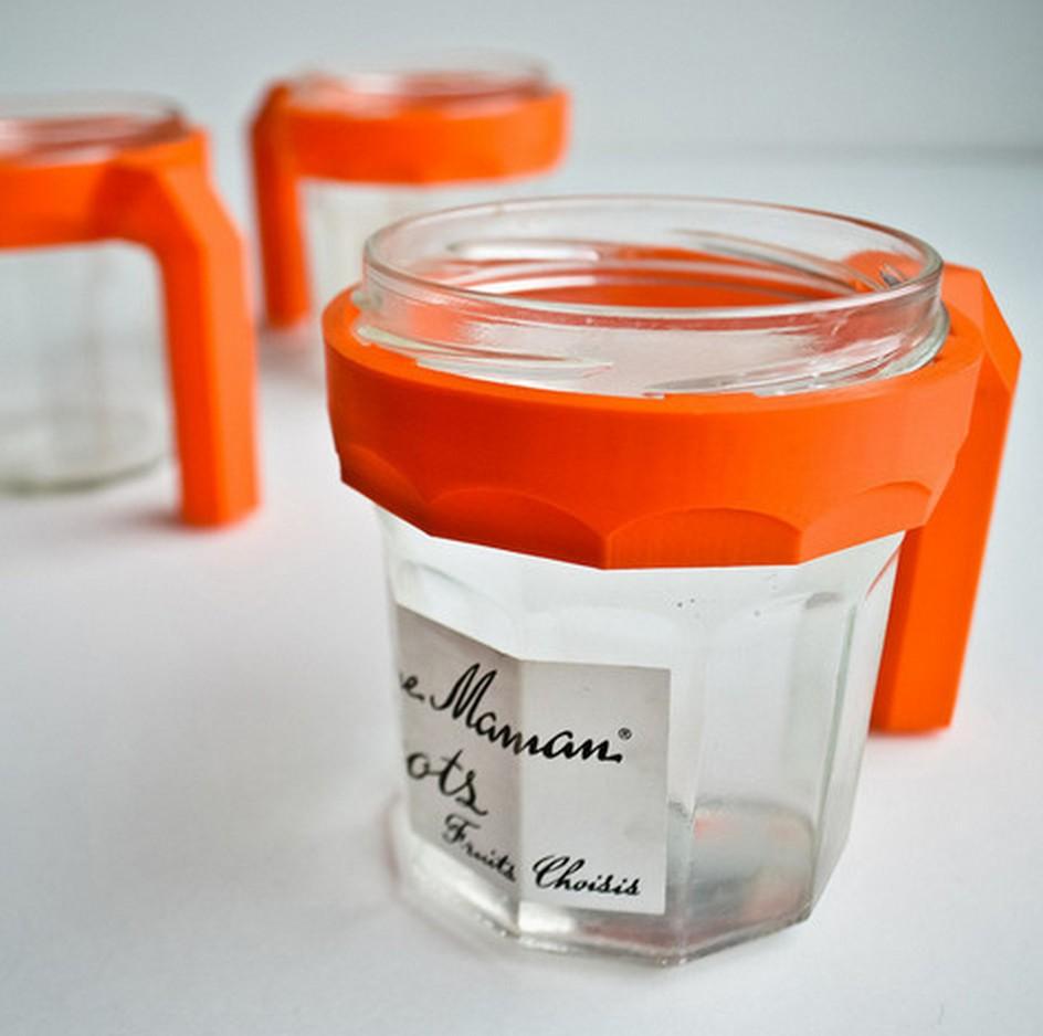 second life mug transformation d 39 un pot de confiture blog d co design. Black Bedroom Furniture Sets. Home Design Ideas