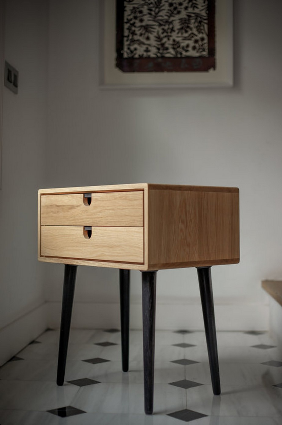 Petite commode par habitables blog d co design for Table de chevet en fer