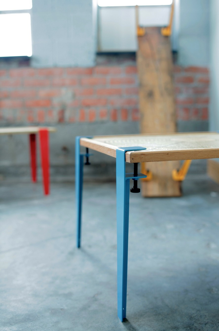 the floyd leg un astucieux syst me pour faire une table blog d co design. Black Bedroom Furniture Sets. Home Design Ideas