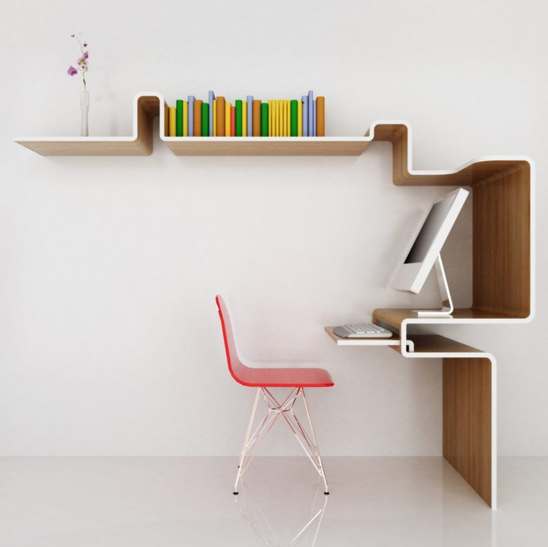 Meuble bureau K Workstation par Misosoup Design Blog Dco Design