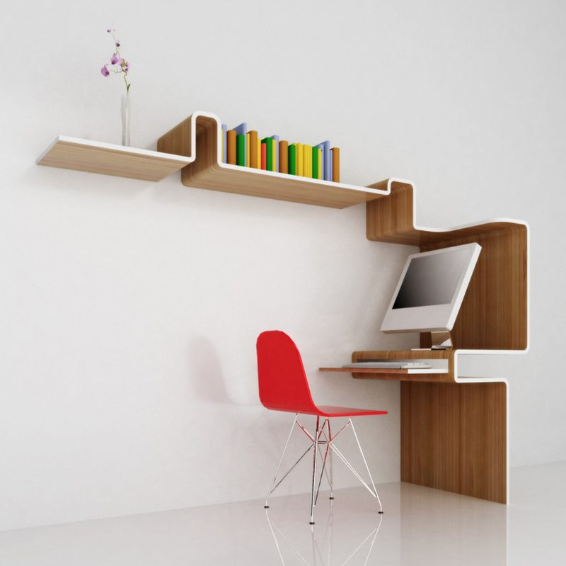 meuble bureau k workstation par misosoup design blog. Black Bedroom Furniture Sets. Home Design Ideas