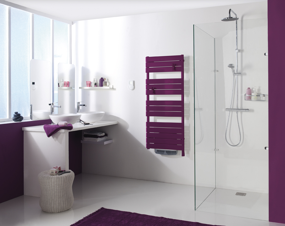 Emejing Salle De Bain Fushia Et Blanc Ideas - Awesome Interior Home ...