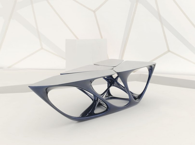 Table mesa par zaha hadid blog d co design for Divano zaha hadid