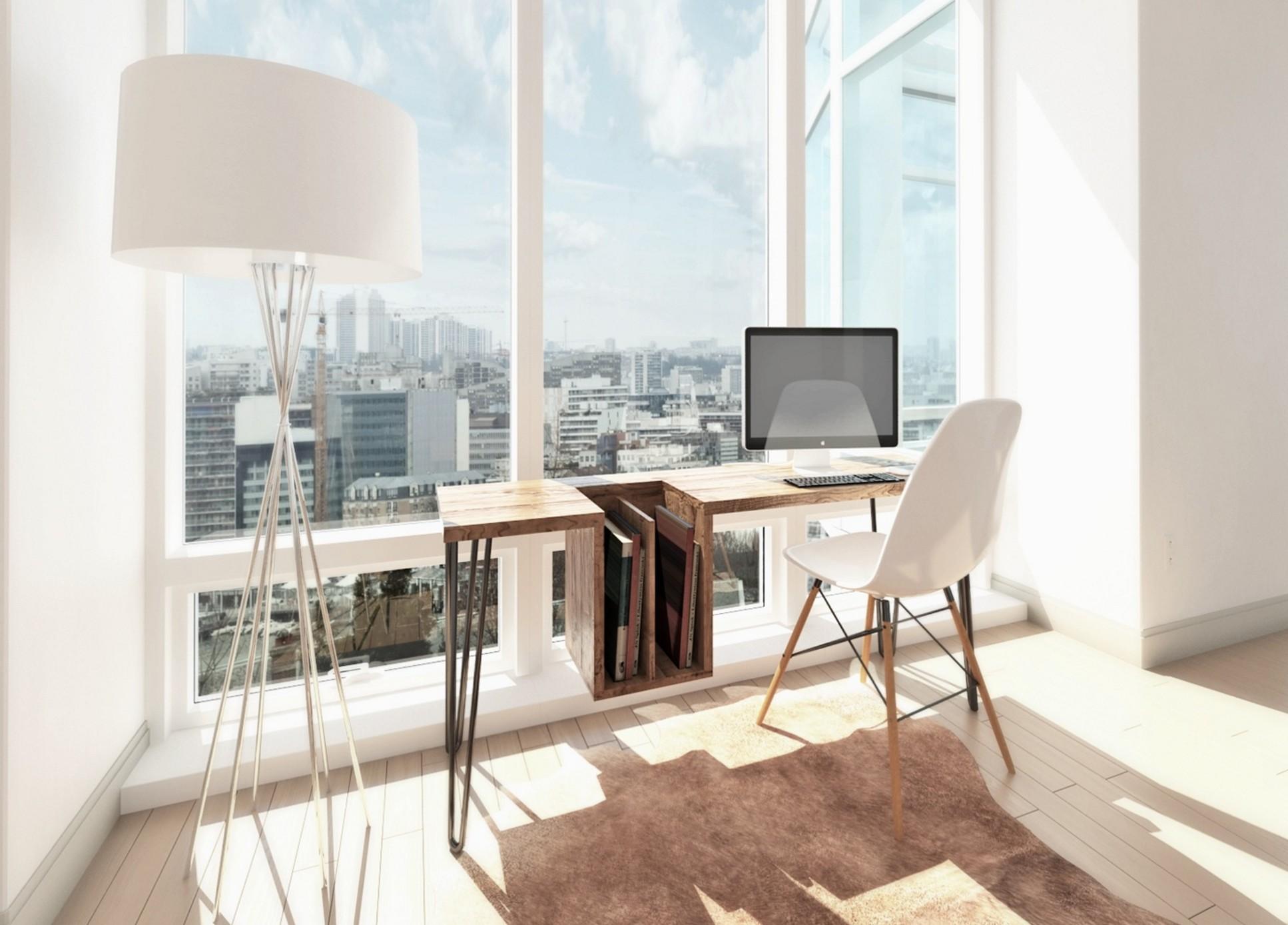 bureau design bois 2 blog d co design. Black Bedroom Furniture Sets. Home Design Ideas