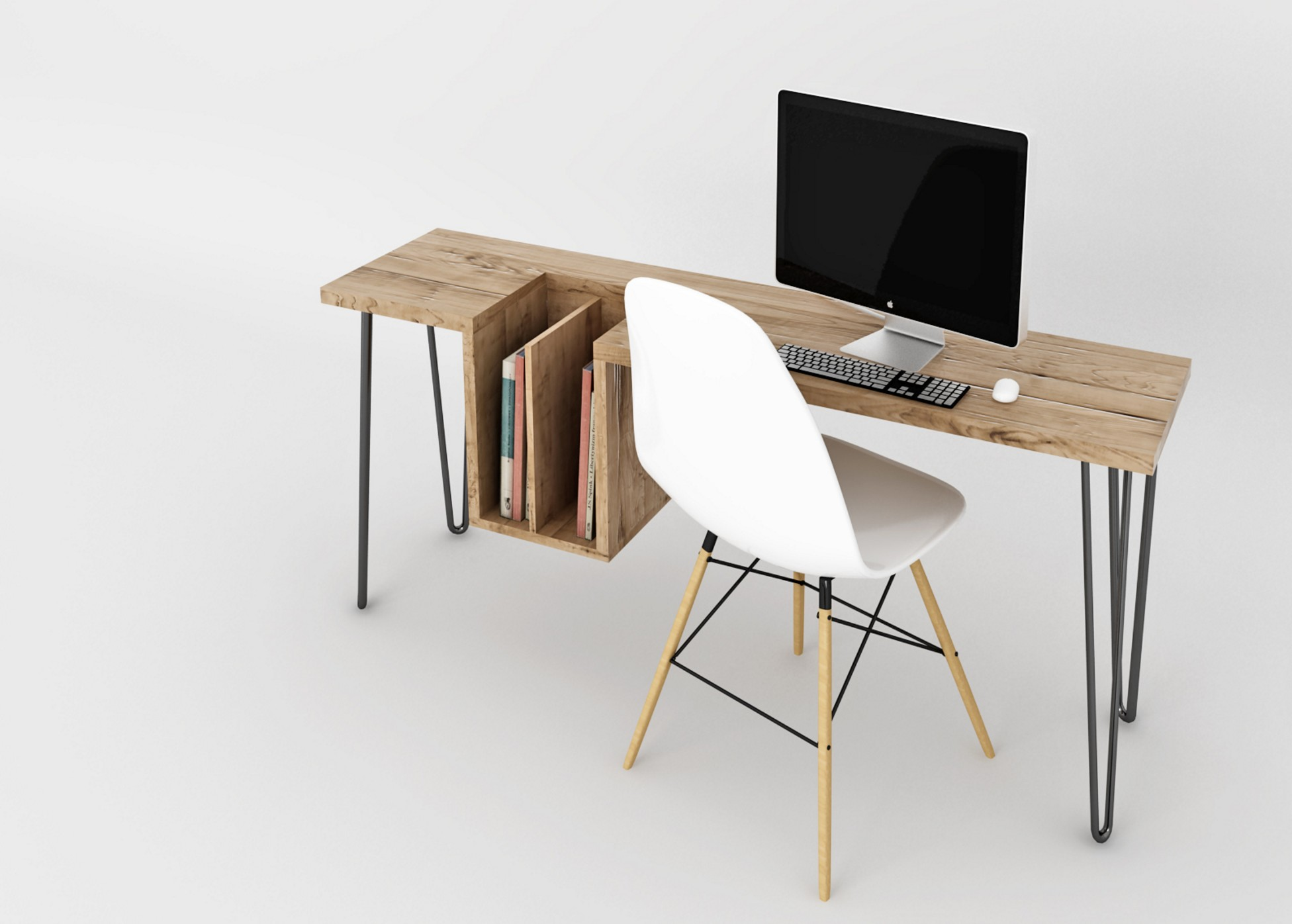 Bureau design bois 5 blog d co design for Bureau en bois design