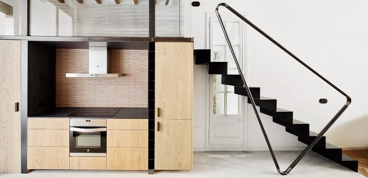 superbe concept de rampe d 39 escalier blog d co design. Black Bedroom Furniture Sets. Home Design Ideas
